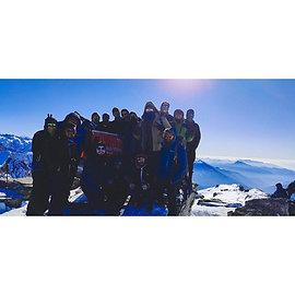A beautiful summit on 2020 New Year! 🏔