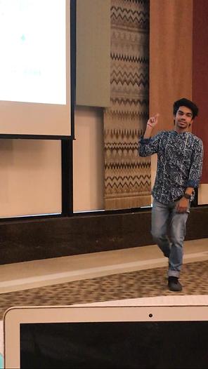 Parth Bhalla at Fintech Innovatives Seminar