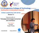 My talk at KS Rangaswami College of Technology