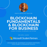 My talk about blockchain at Microsoft