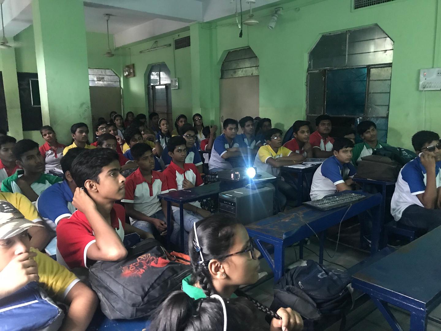 Innovate future workshop at Global Public School