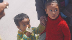 2 cute kids I spent the day with in Leh Ladhak :)