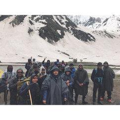 Chikka Camp Site 2019. It was -25C! ❄❄