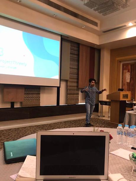 Me speaking Fintech Innovatives event