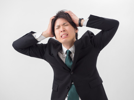 慢性頭痛は3つの原因で対処する