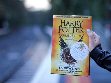 Harry Potter and the Cursed Child by J. K. Rowling - Hachette Australia