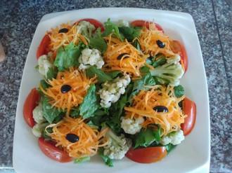 Quelques repas santé réalisés par nos apprenantes