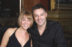 Toby Anstis and sister Kate
