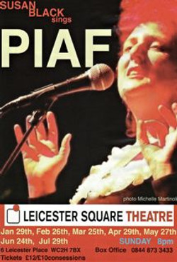 Susan Black singing Piaf