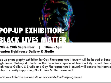 Pop Up Exhibition Black Lives Matter