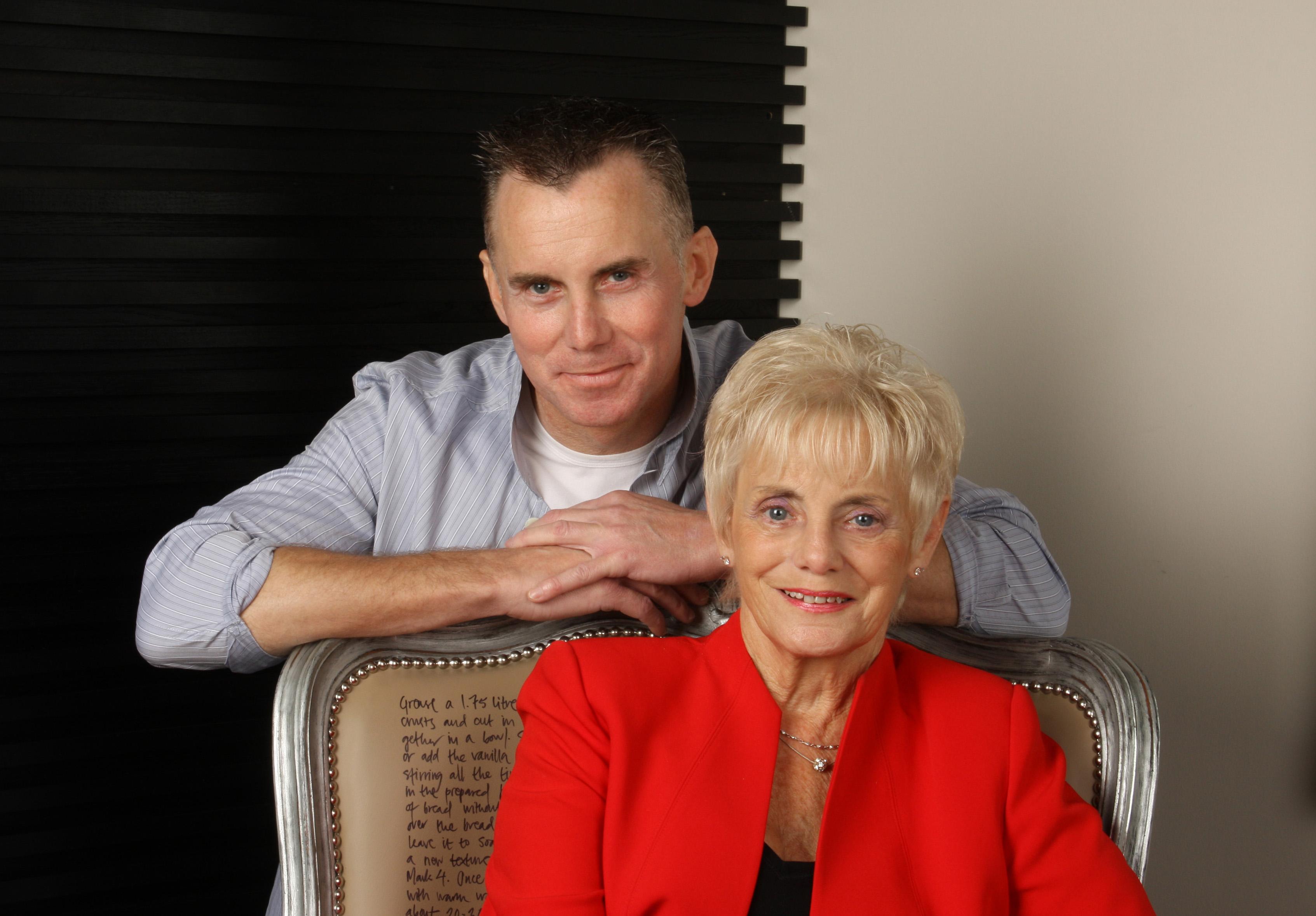 Gary Rhodes & Mum Jean