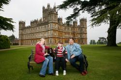 Lord & Lady Canarvon with son Edward