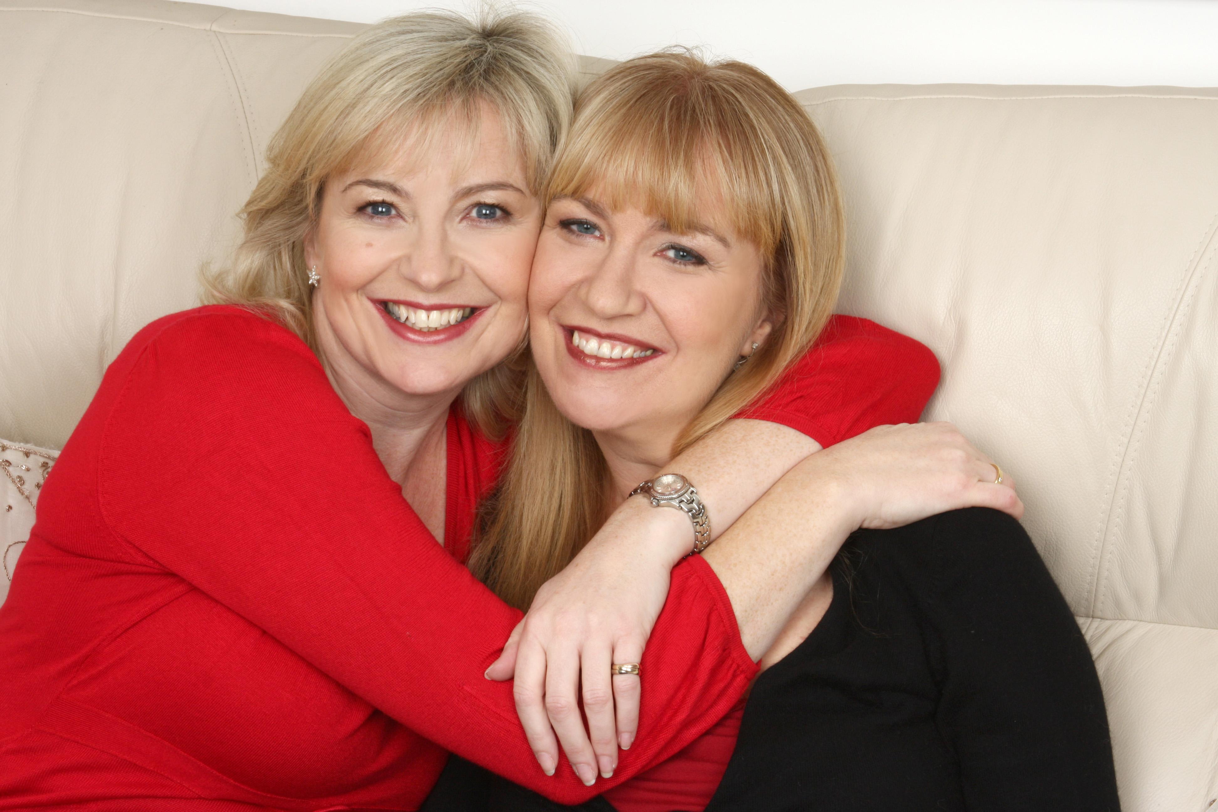 Carole Kirkwood & sister Trish