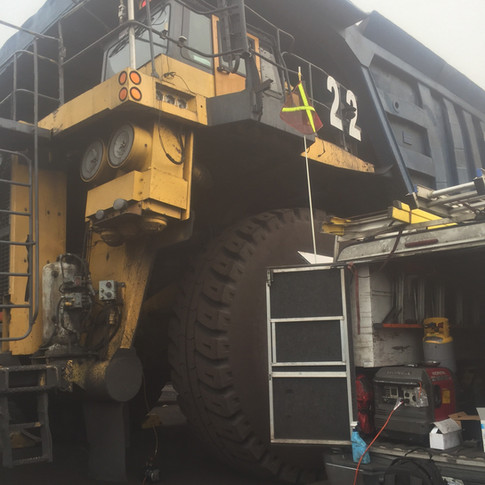 Mining Truck HVAC Repairs & Maintenance