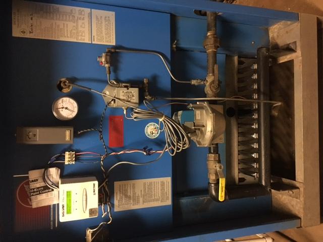 Boiler maintenance for industrial