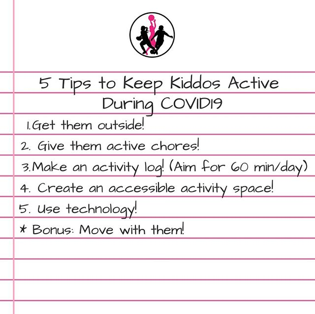 Stay Active During COVID19