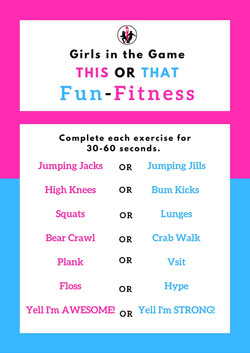GITG This or That Fun Fitness