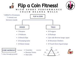 Flip a Coin Fitness with Deanna Wells