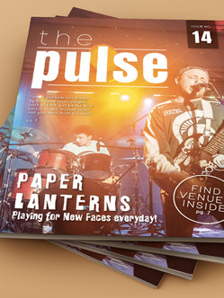 1. Magazine Cover and Interior Mock-Up C