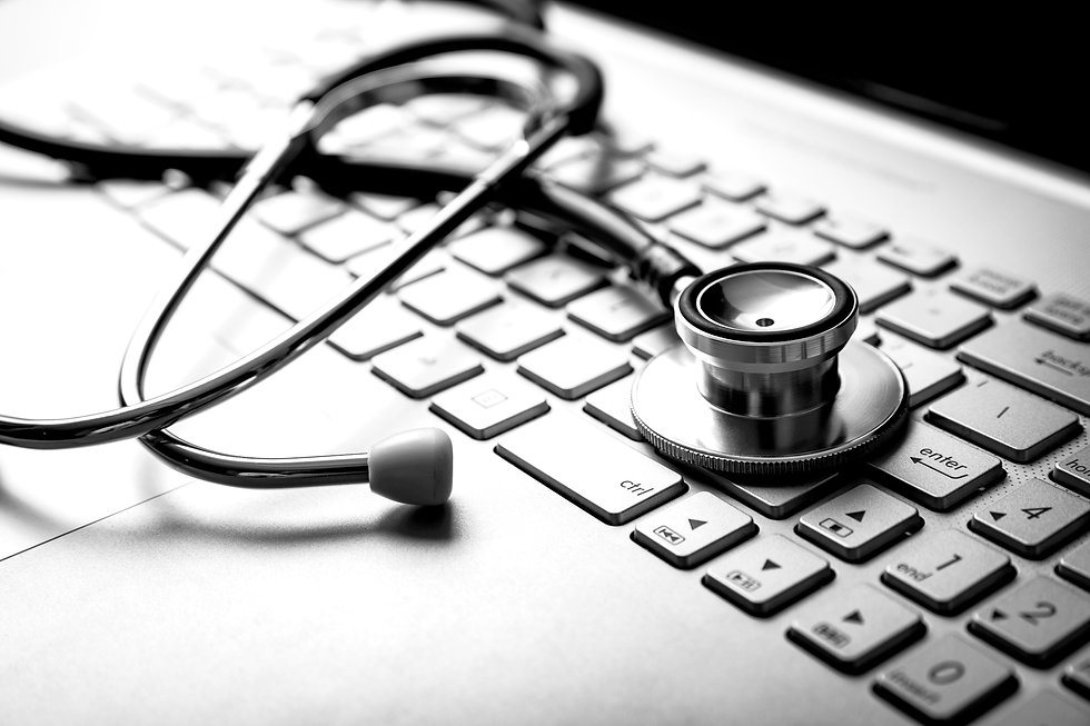 bigstock-Medical-Stethoscope-On-Laptop--