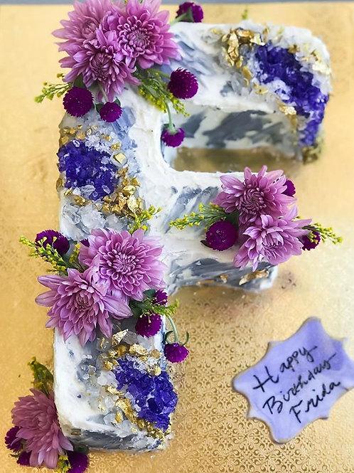 Single Letter - CAKE