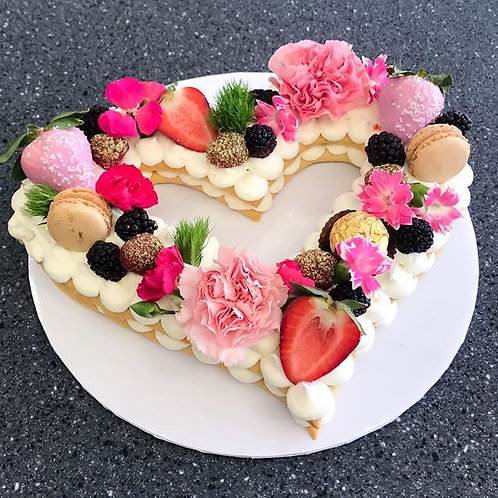 Heart Cookie Tart