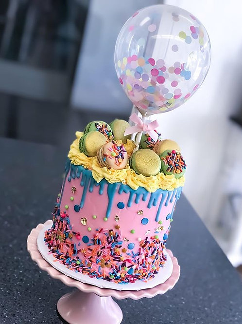 Ready to Party Cake