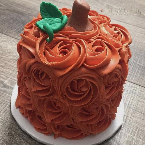 """6"""" Fall pumpkin cake serves 10-12"""