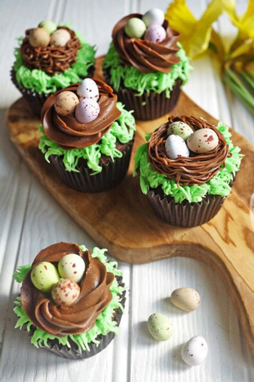 Bird Nest Cupcake Dozen