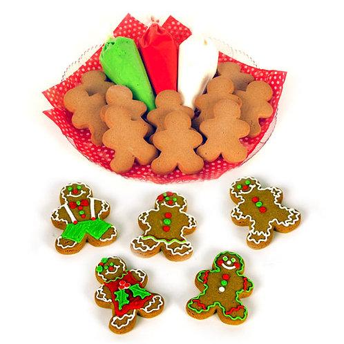 Gingerbread Man Decorating Kit 12/18