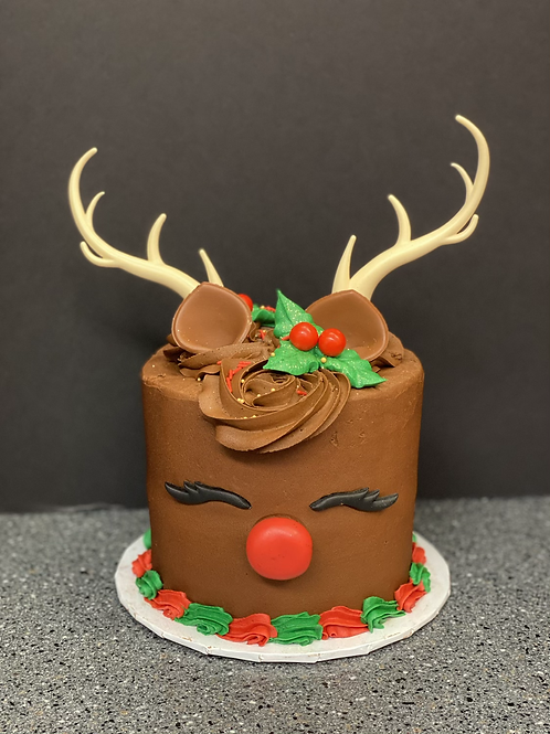 """Rudolf cake 6"""""""