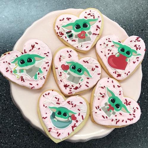 Grogu (Baby Yoda) cookies 6