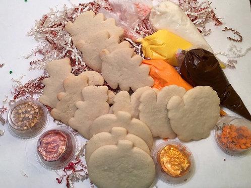 Thanksgiving cookie kit