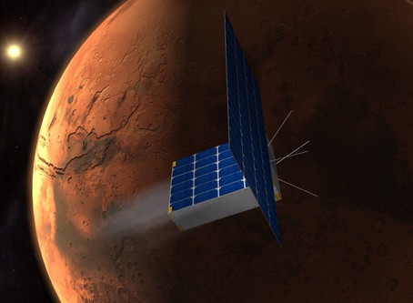 The sky is no longer the limit: NASA has two Cubesats that will soon be heading to Mars