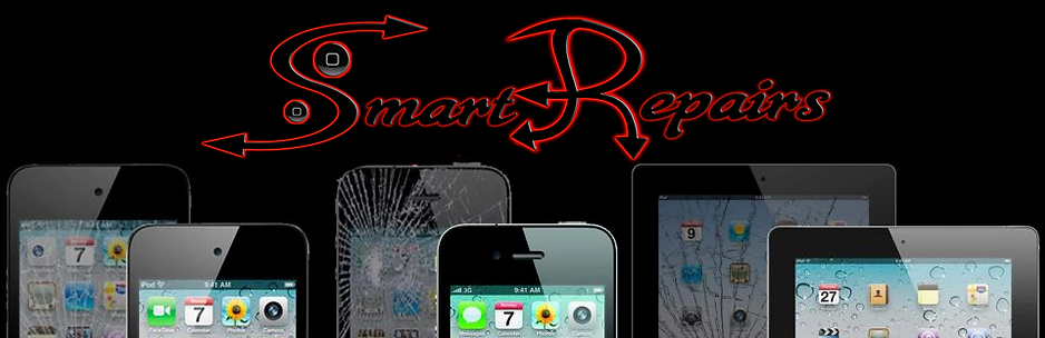 Smart Repairs az LLC Logo; Iphone screen repair replacement fix your broken cracke smartphone!