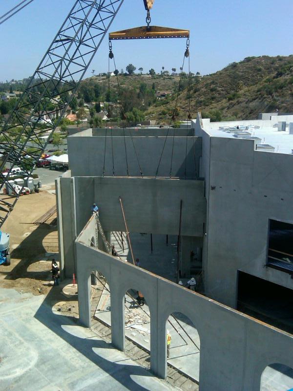 Concrete Panel Installation