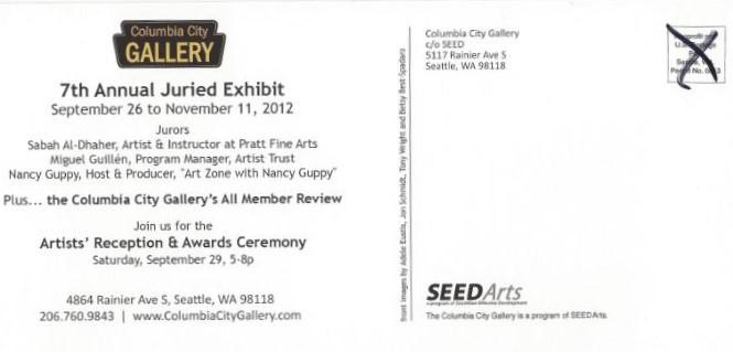 Jon Schmidt Columbia City Gallery