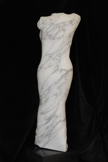 Unveiled 2May 2013, Arabascato marble It