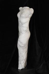Unveiled 3 May 2013, Arabascato marble I