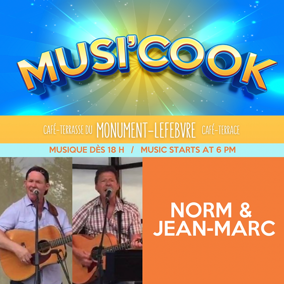 Musi'cook - Norm & Jean-Marc