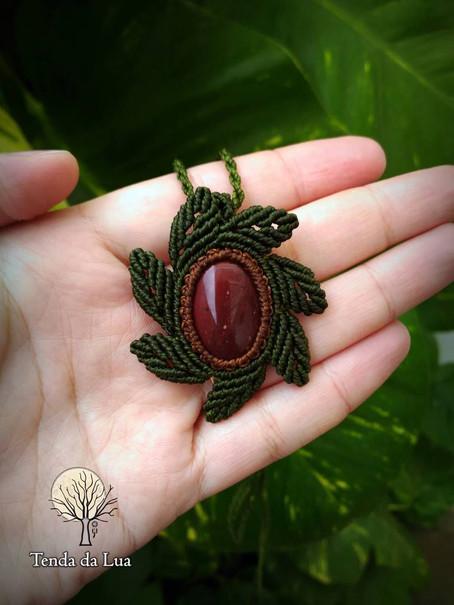 Jaspe Vermelha - Pedra da Proteção