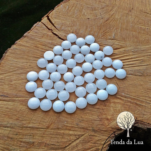 JDB01 - Mini Jade Branca - 12mm - Un