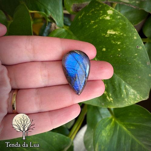 LB110 - Labradorita Azul Gota - 3,2cm x 2cm