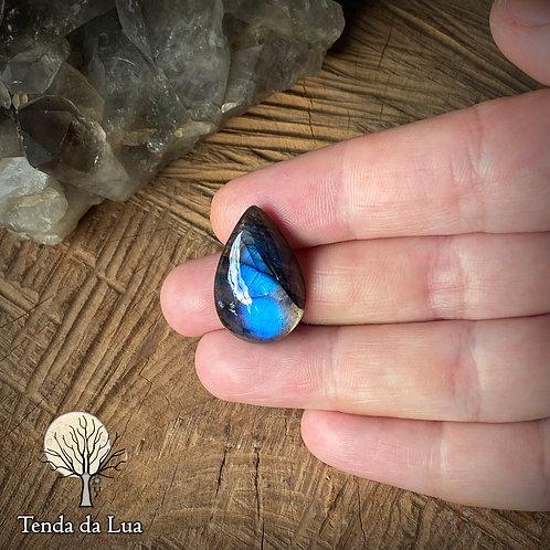 LB98 - Labradorita azul gota - 2,3cm x 1,5cm