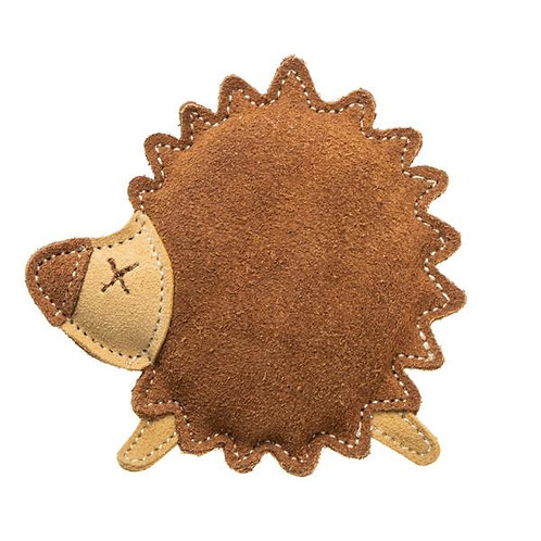 Hedgehog Leather Toy