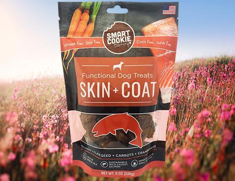 Smart Cookies Skin + Coat Dog Treats