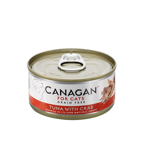 Canagan Cat Canned Food-Tuna with Crab 75g