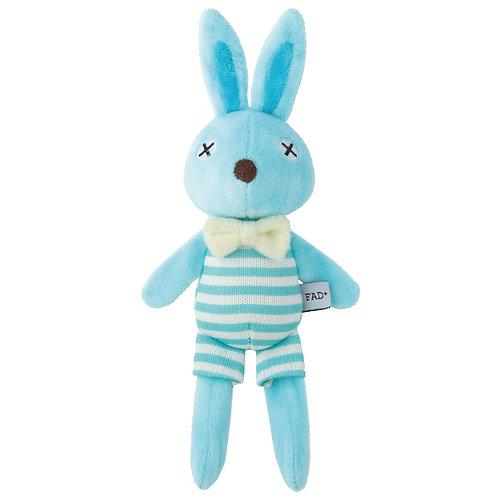 Animal Plush Toy/Rabbit/Blue Stript
