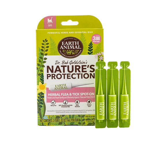 Nature's Protection™ Flea & Tick Herbal Spot-On For Cats
