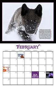 2021 Calendar FEB Page